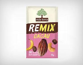 Distribuidor Remix Cacau, Castanha de Caju e Banana Passa25g - Mãe Terra