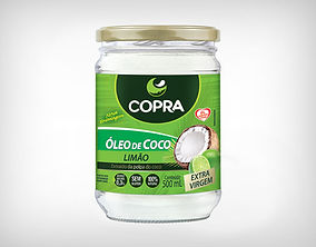 Preço de Atacado Óleo de Coco Sabor Limão Copra