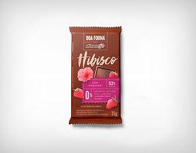 Preço de Atacado Chocolate Boa forma Hibisco com Morango - ChocoLife