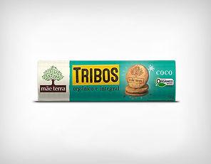 Distribuidor Biscoito Doce Tribos Coco - 130g - Mãe Terra