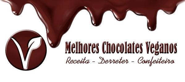 Melhores chocolates veganos para derreter - receita