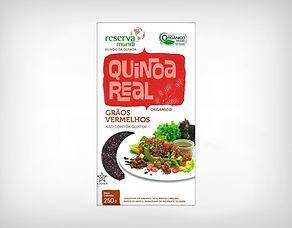 Preço Atacado Quinoa Real Vermelha Grão Orgânica - Reserva Mundi