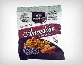 Preço de Atacado Cookie Biscoito Fit Amendoim com Whey Protein Isolado Hidrolisado - Whey Vivi