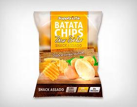 Preço Atacado Snack Batata Chips Assada- Supply Life 