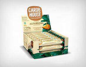 Fornecedor Alfarroba com Banana 30g - Carob House - Preço Atacado