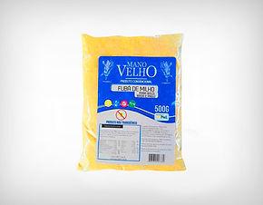 Fornecedor Fubá de Milho Sem Glúten Não Transgênico 500g - Mano Velho
