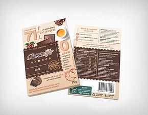 Preço de Atacado Chocolate Senses 71% Café - Chocolife