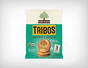Distribuidor Biscoito Doce Tribos Coco - 49,5g - Mãe Terra