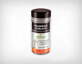 Distribuidor Magnésio Quelato 433mg 60 Cápsulas - MEISSEN