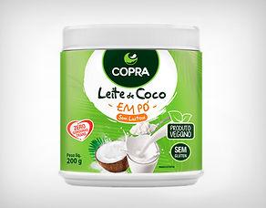 Preço de Atacado Leite de Coco em Pó - Copra