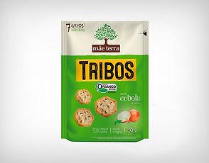 Distribuidor Biscoito Orgânico Tribos Cebola E Salsa 50g - Mãe Terra