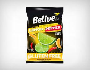 Preço de Atacado Snack Assado Lemon & Pepper Belive