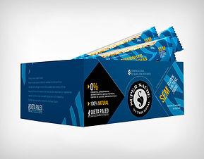 Distribuidor Barrinha de Castanha Macadâmia e Coco- Super Saúde - Dieta Paleo