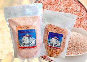 Representação produtos naturais: sal rosa himalaia - Natural Wonder