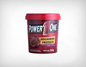 Distribuidor Brigadeiro Proteico 500g - Power1One