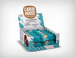 Fornecedor com Biscoito de Arroz 10 g -Carob House