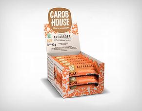 Fornecedor Alfarroba com Castanha de Caju 12g - Carob House - Preço Atacado