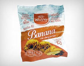 Preço de Atacado Cookie Biscoito Fit Banana com Whey Protein Isolado Hidrolisado - Whey Vivi