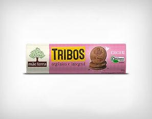 Distribuidor Biscoito Doce Tribos Cacau - 130g - Mãe Terra