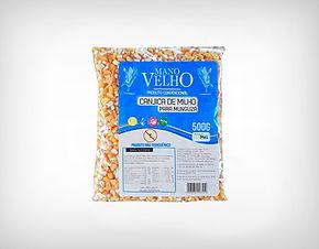 Fornecedor Canjica de Milho Natural Sem Glúten Não Transgênico 500g - Mano Velho