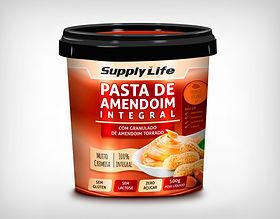 Preço de Atacado Pasta de Amendoim Integral com Amendoim Torrado- Supply Life