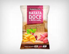 Preço Atacado Snack Batata Doce e Beterraba Assado30g - Supply Life