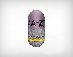 Distribuidor Encapsulado AZ+ Polivitamínico Sênior 50+ 120 Cápsulas 450mg - Polimais