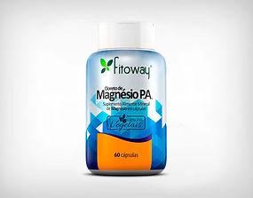 Distribuidor Cloreto de Magnésio P.A. 60 Cápsulas Vegetais - Fitoway