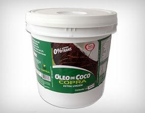 Preço de Atacado Balde Óleo de Coco Extra Virgem 3,2l - Copra