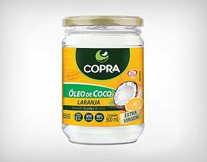 Preço Atacado Óleo de Coco Sabor Laranja Copra