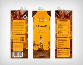 Preço de Atacado Leite de Castanha Caju Chocolate - A Tal da Castanha