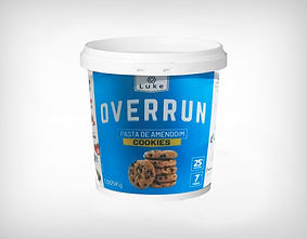 Distribuidor Pasta de Amendoim Cookies Crocantes 1kg - Overrun