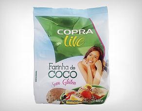 Preço de Atacador Farinha de Coco 400g e 100g - Copra