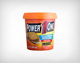 Distribuidor Pasta de Amendoim Integral Crocante 1kg - Power1One
