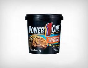 Distribuidor Pasta de Amendoim Integral 1kg - Power1One