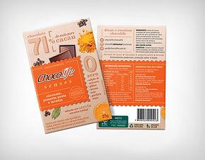 Preço de Atacado Chocolate Senses 71% Curcuma, Pimenta e Laranja - Chocolife
