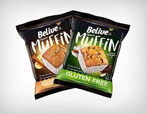 Preço de Atacado Muffin Sem Lactose - Belive