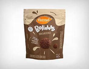 Distribuidor Bolinhas Chocolate Brigadeiro Zero Açúcar- Flormel