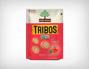 Distribuidor Biscoito Orgânico Tribos Tomate e Manjericão 50g - Mãe Terra