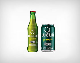 Distribuidor Refrigerante Orgânico Guaraná - Wewi