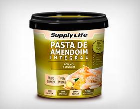Preço Atacado Pasta de Amendoim com Mel e Gengibre Supply Life