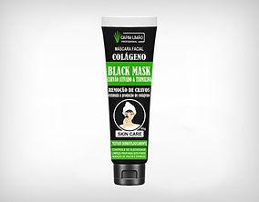 Distribuidor Máscara Facial Negra com Colágeno, Carvão Ativado e Turmalina 40g - Preço de Atacado- Capim Limão