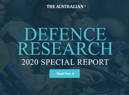 STEM Hub's Autonomous Vehicles Challenge is mentioned in The Australian 2020 Defence Special Report