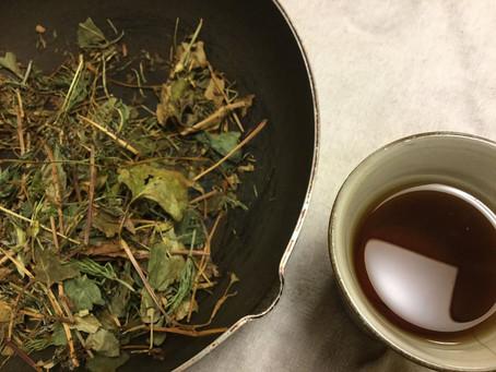野草茶の飲み方