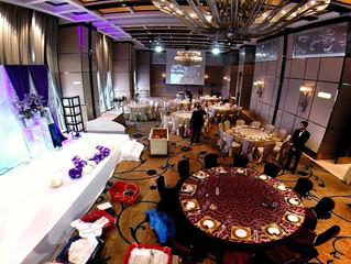 在 Four Seasons Hotel Hong Kong Phantom2 拍攝採排中