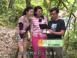 再次為TVB<活得好EASY>拍攝