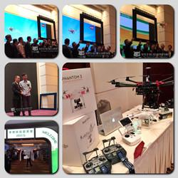 華輝科技群英會2015-開幕及場內航拍攤位