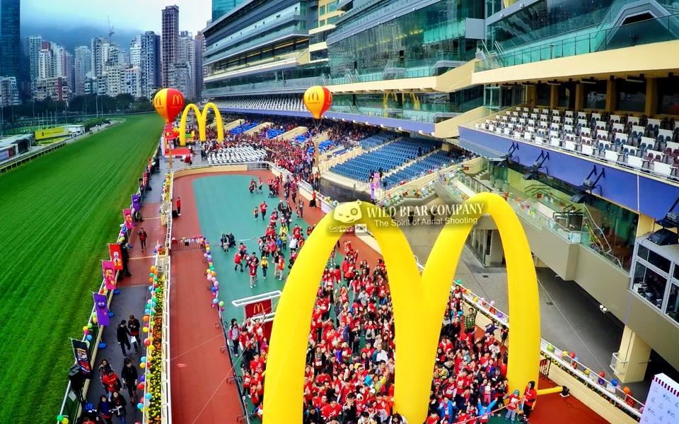 麥當勞兒童愛心馬拉松十週年-特約Wild Bear Company 航拍