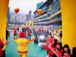 麥當勞兒童愛心馬拉松十週年《The 10th Anniversary of McDonald's Kidathon》特約航拍公司有我地Wild Bear Company!