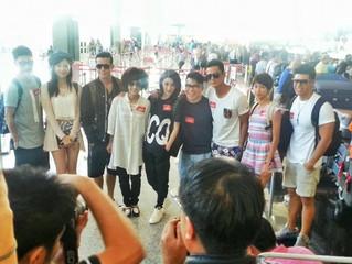 TVB劇集《衝線》,一連16日台灣外景拍攝今日開始啦!